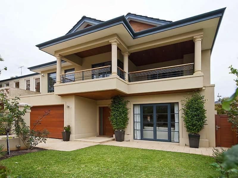 Facades of houses fresh homes special for Fachadas de casas con terraza