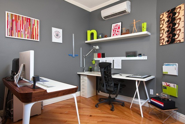Cool Great Ideas For Decorating A Home Office On A Budget  Home Design