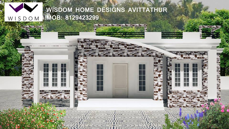 1350 sq ft kerala home design 2015 for Modern home design 2015