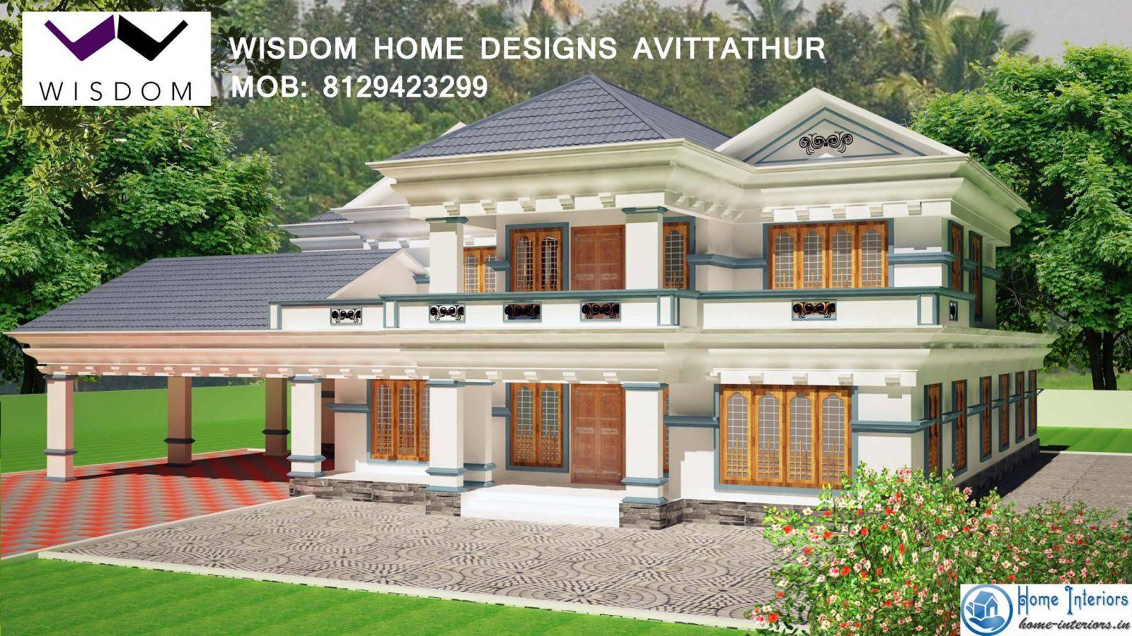 3506 sq ft kerala new style home design for Pool design in kerala