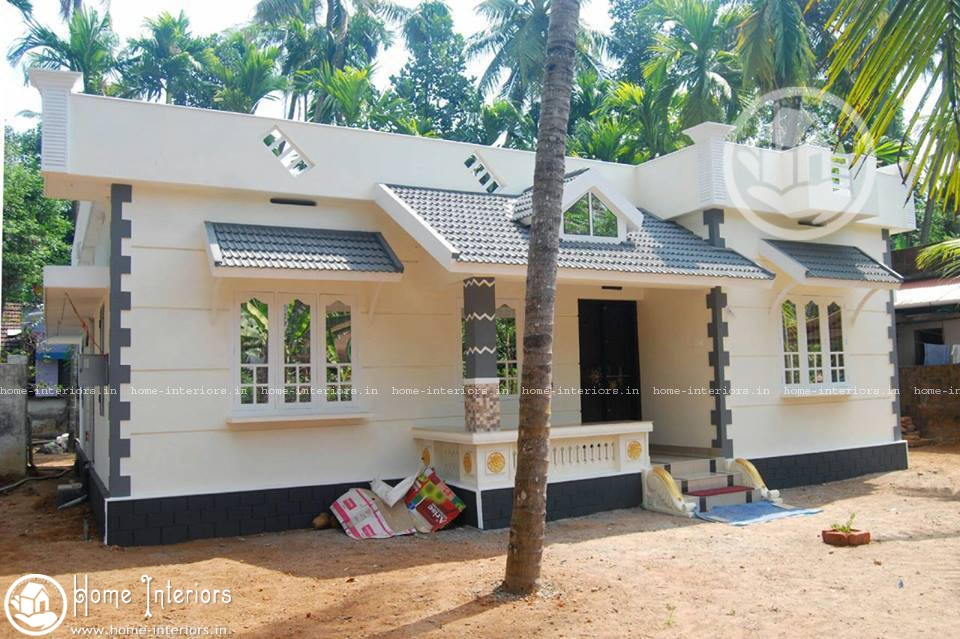 5 Lakh Home Design Part - 32: 1187 Sq Ft, Beautiful Kerala Style Home Design With Plan