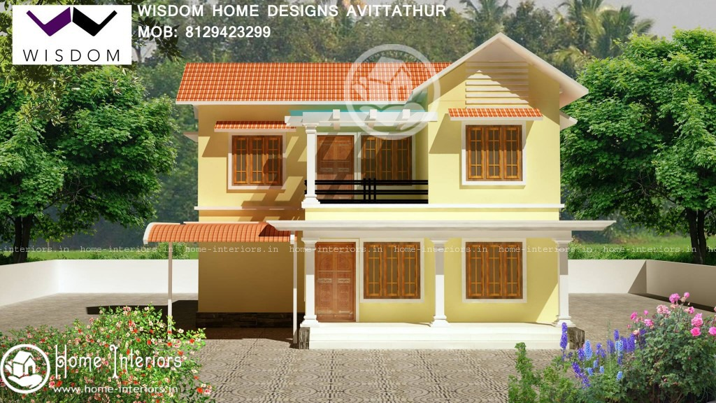 1300 sq ft new kerala style home design in 8 cents for New home designs kerala style