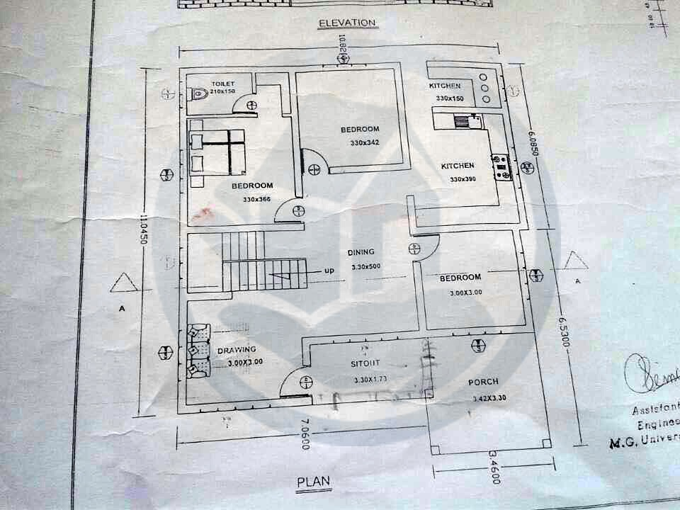 Beautiful home in kerala with plan 2015 for Kerala house plans 1500 sq ft