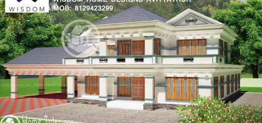 3506 Sq. Ft. Kerala New Style Home Design