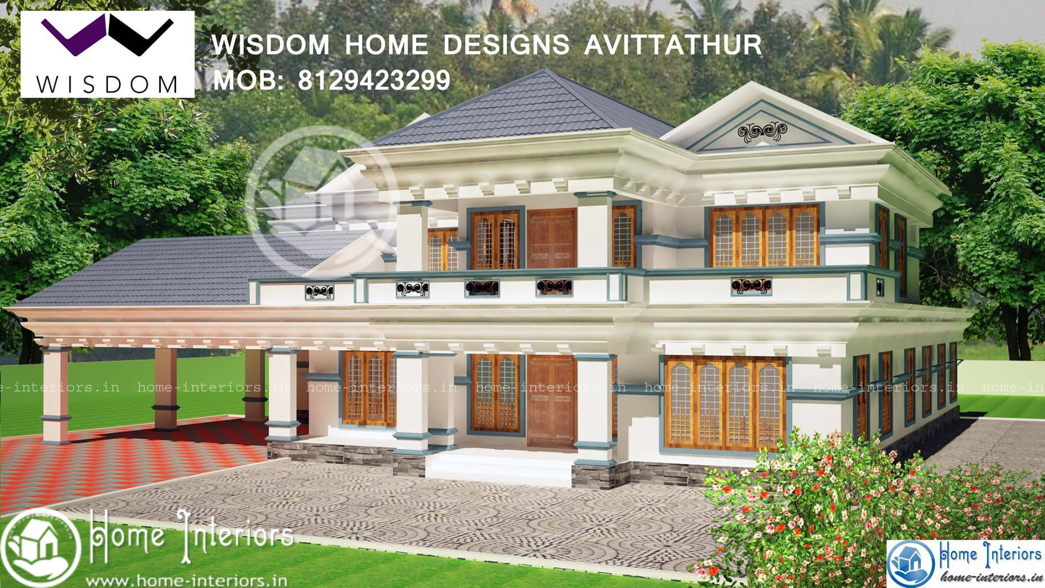 3506 sq ft kerala new style home design for Kerala home designs 2015