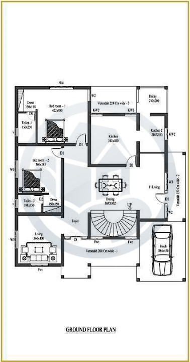 Beautiful Kerala Home Design With Plan Square Feet Amazing And Beautiful Kerala Home Designs plan