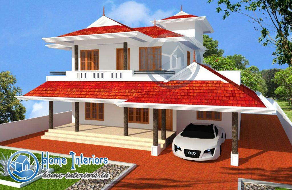 Double Floor Super Home Design 2015