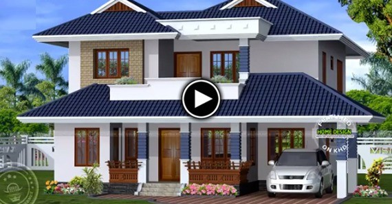 2650 Sq Ft Single Floor Modern Traditional Home Design