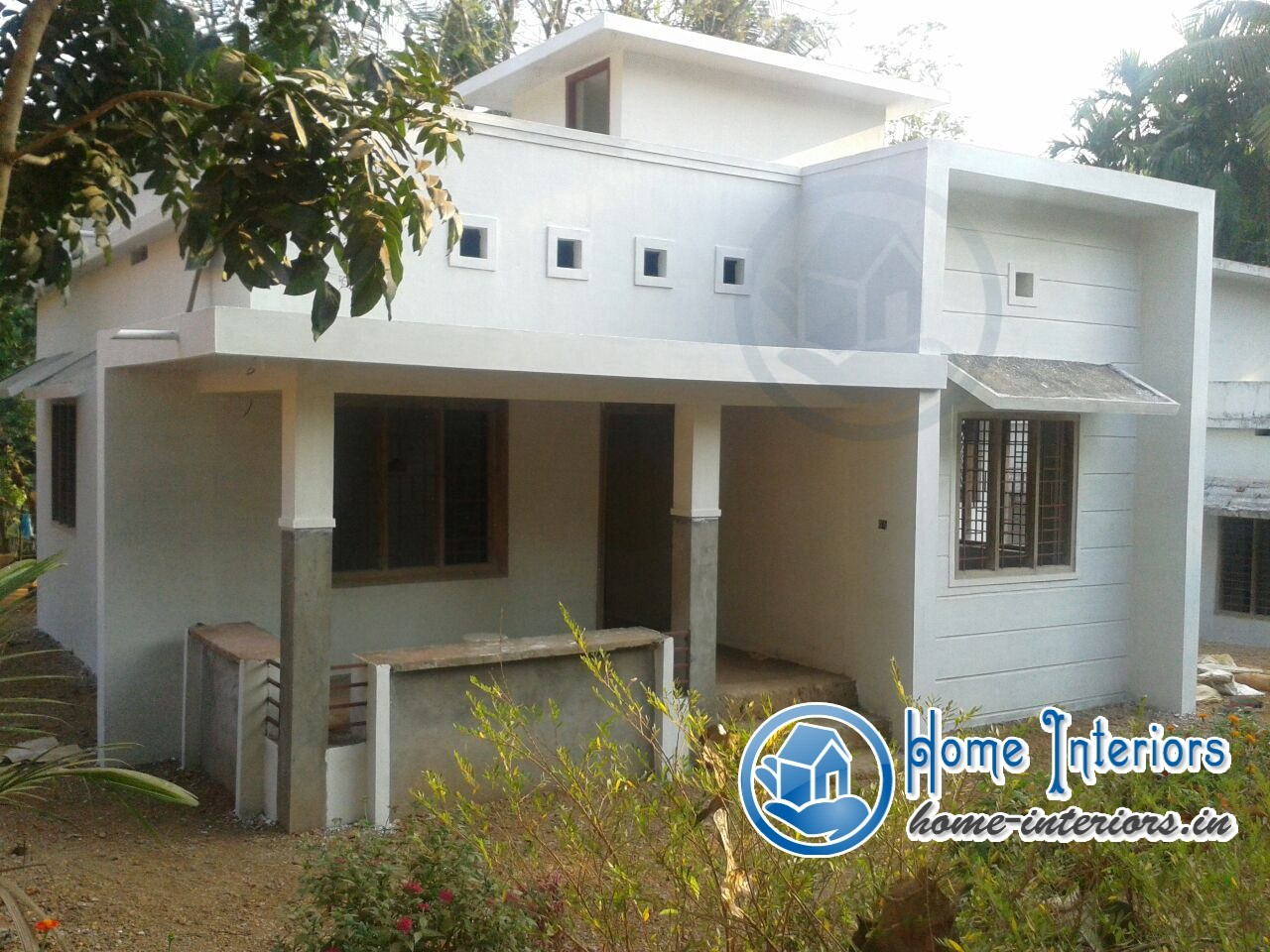 Beautiful kerala small budget home design for Homes on budget com