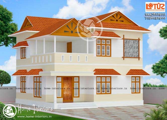 Beautiful Kerala Home Design With Plan 2015