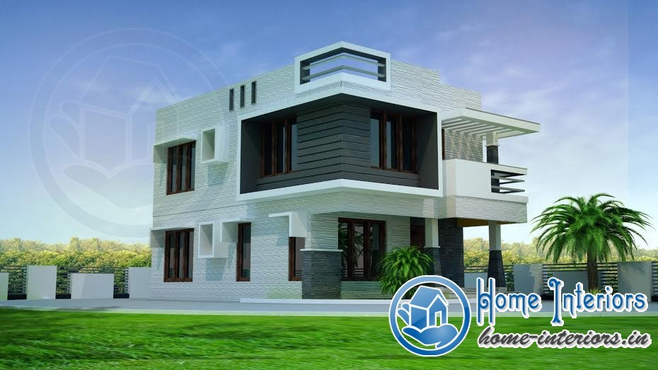 1100 sqft modern concept home design Designers homes
