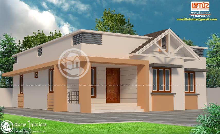 Beautiful 3 Cent Home Design Part - 3: 1100 Square Feet Amazing And Beautiful Kerala Home Designs