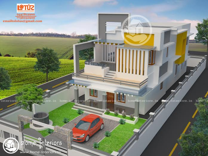 2000 Beautiful Kerala Home Design
