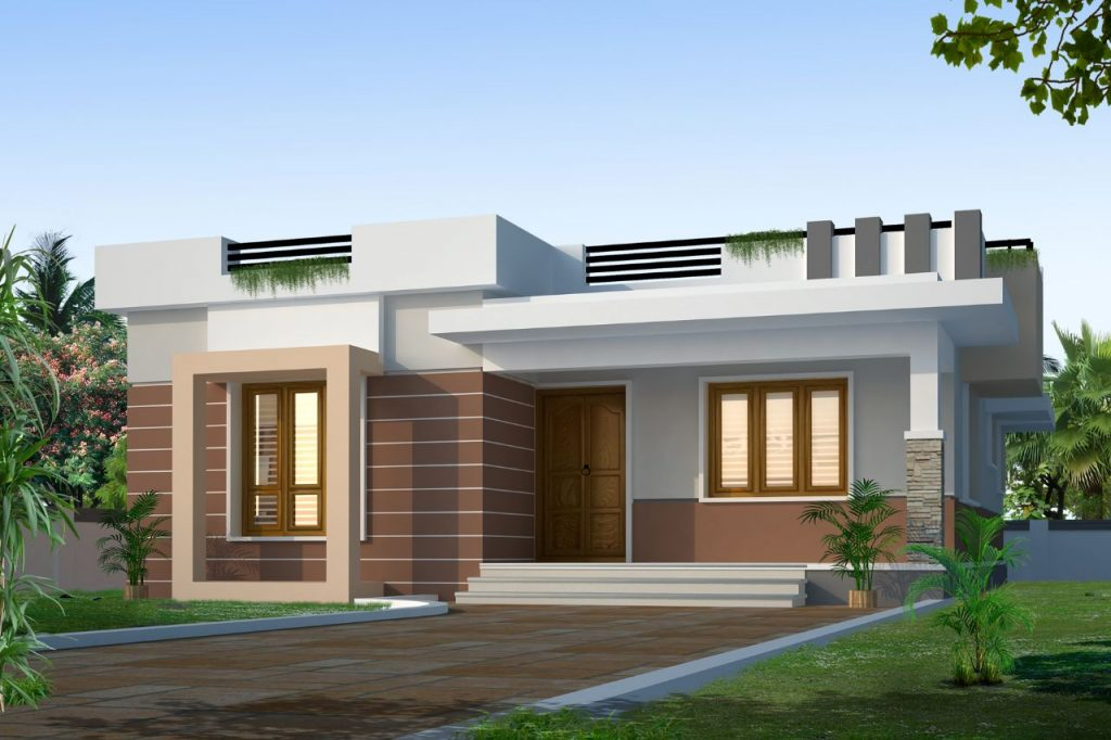 850 sqft 2bhk modern style house 2015 home interiors