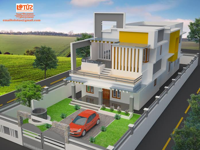 2000 beautiful kerala home design for Best 2000 sq ft home design