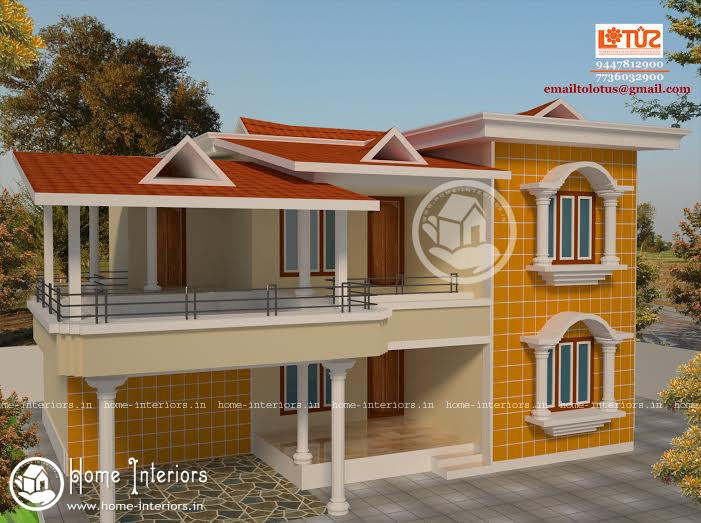 2500 sq ft simple kerala style home design for Simple kerala home designs