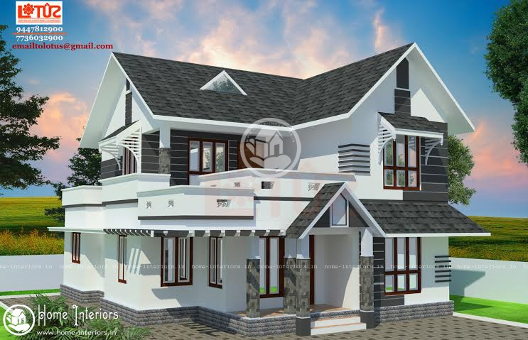1500 Square Feet Amazing And Beautiful Kerala Home Designs. This Modern  Contemporary Style ...