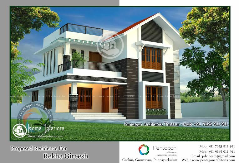 1929 Sq Ft Amazing And Beautiful Kerala Home Designs