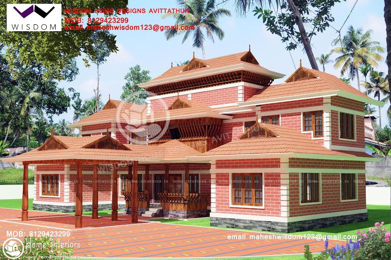Nalukettu Model House Plans House Plans