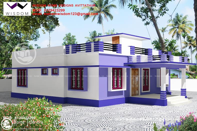 Bon 1250 Sq Ft Amazing And Beautiful Kerala Home Designsz Mahesh
