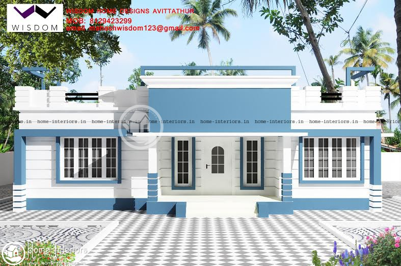 High Quality 1285 SQ FT Amazing And Beautiful Kerala Home Designs
