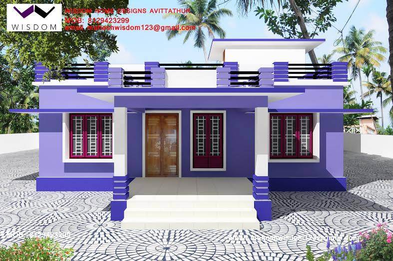 1250 Sq ft, Beautiful & Simple Home Design