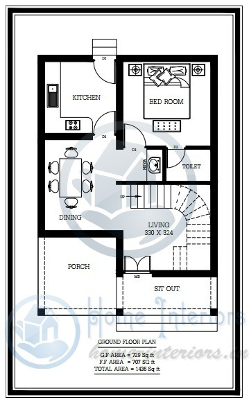 4 Bedroom ApartmentHouse Plans  Interior Design Ideas