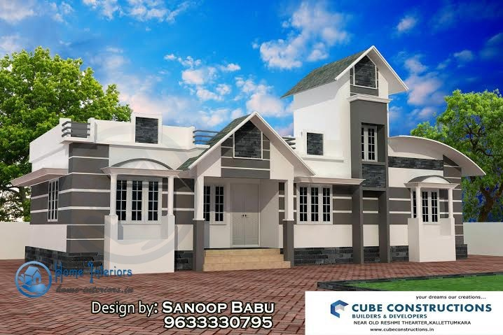 950 Square Feet Single Floor Kerala Home Designs