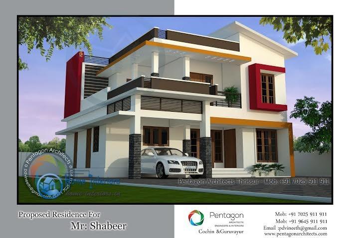 Admirable framework kerala home design double floored for Kerala foyer designs