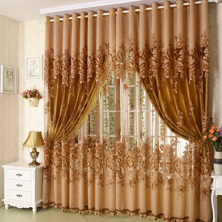 Awesome living room curtain designs Great room curtain ideas