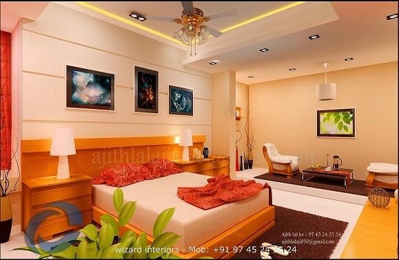 superior modern kerala home bedroom designs