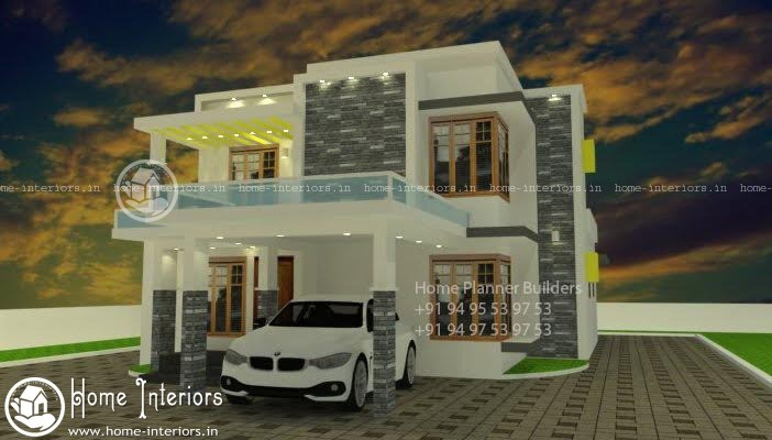 Awesome Contemporary Kerala Home Plans