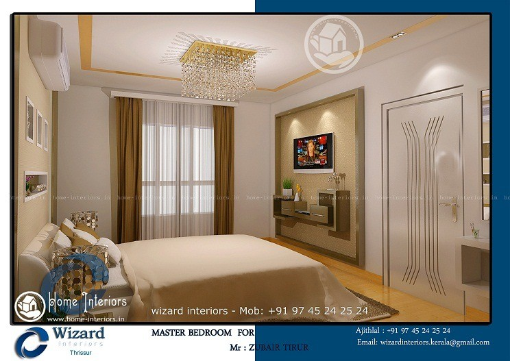 Kerala Home Master Bedroom Interior Decors