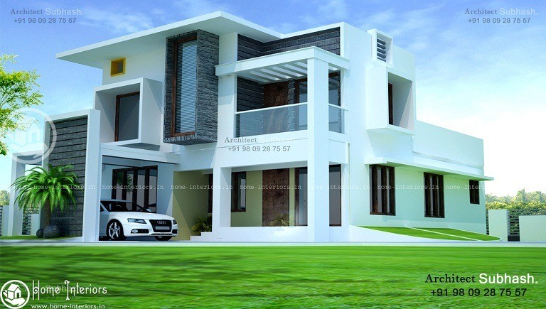 Kerala Home European Style Double Floor Design Part 33