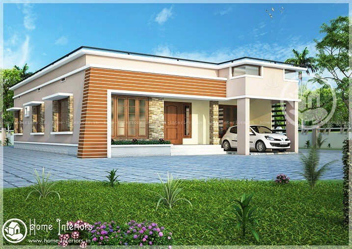 Low cost single storied kerala home designs home interiors for Kerala home designs low cost