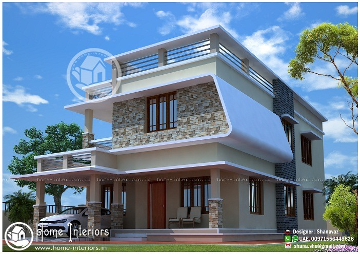 2000 sq ft contemporary villa 4 bhk home design home For4 Bhk Villa Interior Design