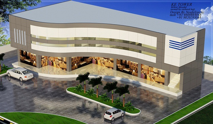 Exemplary 5000 Sq Ft Contemporary Shopping Mall Home