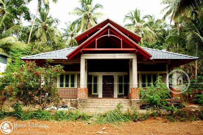 1600 sq ft contemporary kerala home design home interiors for Modern house plans for 1600 sq ft