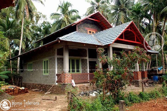 1600 sq ft contemporary kerala home design