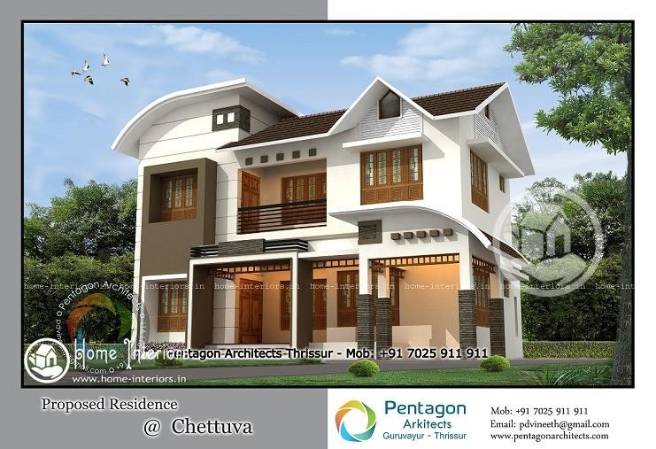 2755 Sq Ft Contemporary Kerala Home Design