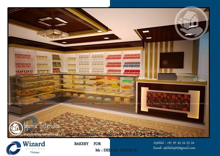 Tremendous Modern Bakery Interior Designs