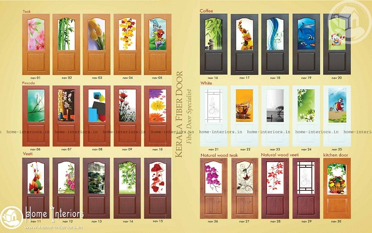 Tremendous Modern Kerala Fiber Door Designs Home Interiors