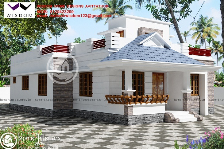 1390 Sq Ft Single Floor Contemporary Home Design Part 39