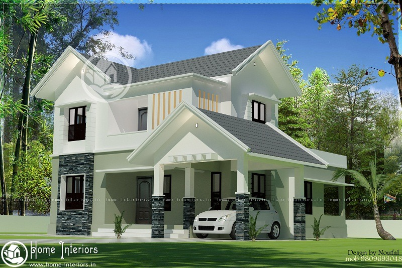 Contemporary Home Designs At Malappuram Part - 36: 1800 Beautiful And Amazing Kerala Home Design