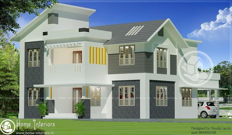 1800 sq ft 4 bhk contemporary home design home interiors for 4 bhk home design