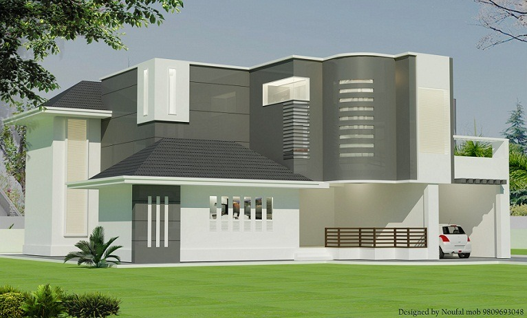 2700 sq ft double floor contemporary home design home for 2700 sq ft house plans