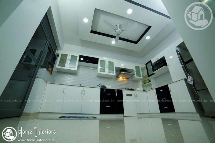 Free Highly Advanced Home Interior Design With Kerala Kitchen
