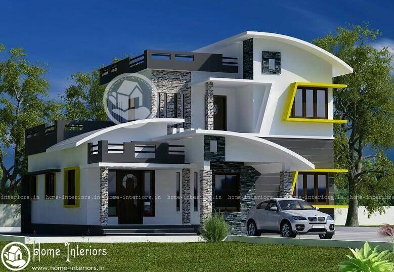 1800 sq ft double floor contemporary home design home