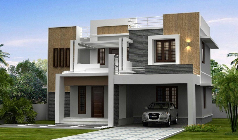 2600 Sq Ft Double Floor Contemporary Home Design Home