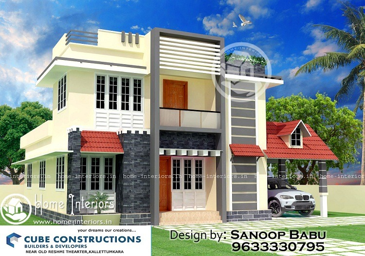 3bhk Contemporary Home Part - 41: Tremendous 3 BHK Renovation Modern Home Design